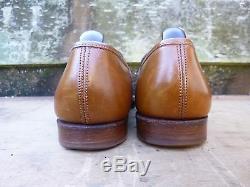 Crockett & Jones Hand Grade Loafers Brown / Tan Uk 7 Excellent Condition