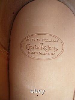 Crockett & Jones Hand Grade Loafers Brown Uk 7.5 Crawford Unworn Cond