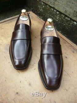 Crockett & Jones Hand Grade Loafers Brown Uk 7 Walton Superb Condition