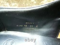 Crockett & Jones Hand Grade Monk Strap Black Uk 11 Chadwick Ex Condition