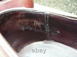 Crockett & Jones Hand Grade Monk Strap Brown Uk 10 Excellent Condition