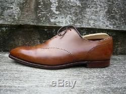 Crockett & Jones Hand Grade Wholecut Brogues Brown / Tan Uk 10 Ex. Cond