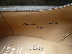 Crockett & Jones Hand Grade (peal) Monk Strap Black Uk 9.5 Unworn Cond