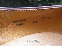 Crockett & Jones Vintage Hand Grade Derby Brown Uk 8.5 Woodstock-unworn Cnd