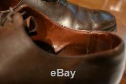 Crockett & Jones Weymouth HAND GRADE Brown Dress Shoes Size 6.5 E UK 7.5 D US