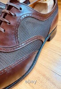 Dack's Custom Grade Vintage 1940s Two Tone Spectator Calf/Tan Uwing Shoes 11C