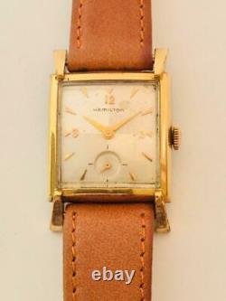 Fine Vintage Men's Hamilton Dress Wrist Watch With 22j Grade 770 Movement