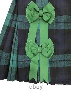 Genuine Royal Regiment of Scotland (RRS) Dress Kilt With Bows Grade 1 #2932