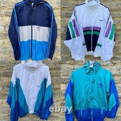 Grade A! Wholesale Vintage Adidas Sportswear Jackets Shell Suits Windbreakers