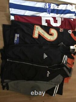 Huge Job Lot /bundle 60items+Of Vintage Branded Sportswear Mainly A grade
