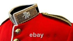 IRISH Guards OFFICERS Ceremonial Tunic RED/GOLD Grade One Army Issue E812