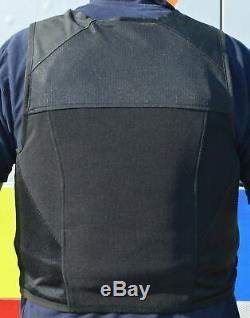 Job Lot 4 x Aegis Hawk Black Overt Body Armour Bullet Proof Stab Vest Grade A