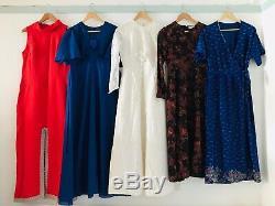 Job Lot #A Wholesale 60 x 50s 60s 70s 80s 90s Vintage Dresses A Grade