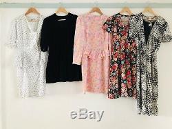 Job Lot #F Wholesale 60 x 70s 80s Vintage Shirt Secretary Tea Dresses A Grade