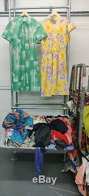 Job Lot Vintage 10kg Dresses MIX Wholesale Patterned Party Clothing Grade 1