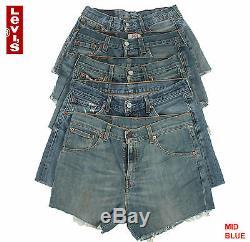 Job Lot Vintage Levis High Waisted Shorts Grade B Wholesale X20 Pieces