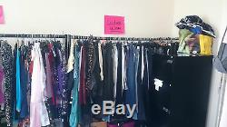 Job Lot of 100 Plus Size Ladies clothing Used Various items. Grade B Defects