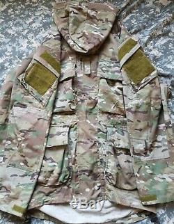 Level peaks smock uk sf crye jacket size S