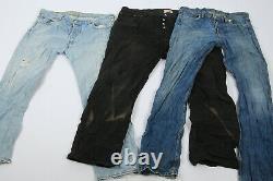 Levis 501 Jeans Levi Vintage Denim Grade C Wholesale Job Lot 30 Pcs