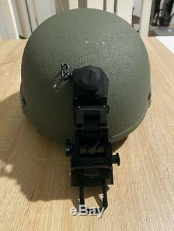 @@ MICH ACH Ballistic kevlar Helmet Level IIIA with original WILCOX mount @@