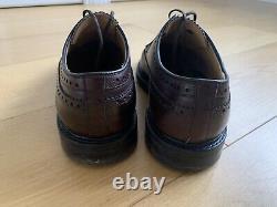 Men's Church's Brown Custom Grade Leather Brogue Shoes UK Size 10