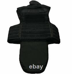 Molle Tactical Black Mehler Body Armour Bullet Proof Spike & Stab Vest Grade A