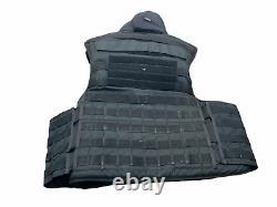 Molle Tactical Mehler Body Armour Bullet Spike & Stab Vest L/R OA344 Grade B