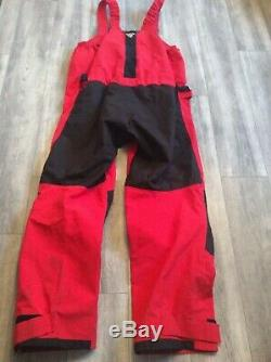 Musto Hpx Ocean Sailing Salopettes Size Xxlarge Military Issue Grade One