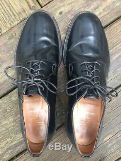NICE Church's Custom Grade Shannon Black Plain Toe Blucher Sz 10 UK 11 US