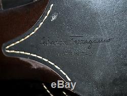Salvatore Ferragamo Gorgeous Premium Grade Leather Boots Sz 9.5C/40 Eur Italy