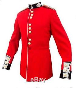 BRITISH ARMY RED CEREMONIAL TUNIC SCOTS GUARDS TROOPER TUNIC GRADE 1