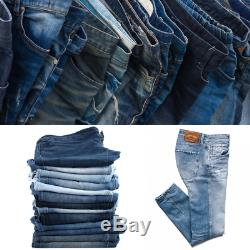 Second Hand Used Clothes 100 x Men's Jeans Grade A £2.00 Each