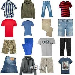 Second Hand Used Clothes Wholesale 25KG Mens UK Mix Premium A+ Grade £4.00