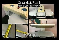 Singer Magic Clothes Press 4 Commercial Grade Press new pad & cover