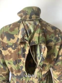 Swiss Army TAZ 90 Camouflage Jacket Combat Smock Scarce Grade 1 40 inch (42)