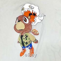 T Shirt Kanye West Takashi Murakami Large Next Level Apparel Art Men Fashion F/s