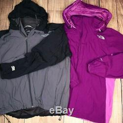 The North Face Wholesale JobLot Mens Womens Vintage Branded Jackets X10 Grade A