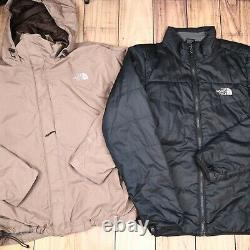 The North Face Wholesale JobLot Mens Womens Vintage Branded Jackets X12 Grade A