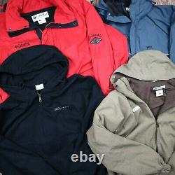 The North Face Wholesale JobLot Mens Womens Vintage Branded Jackets X13 Grade A