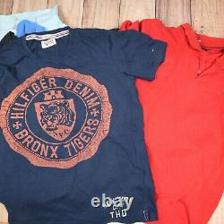 Tommy Hilfiger Mens Womens Tshirts Tops Joblot Wholesale Grade A X65