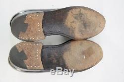 VTG Barrie Ltd Shell Cordovan Custom Grade Oxblood Tassel Loafers Mens 10.5 D