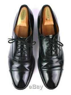 VTG Church's'Custom Grade' US 13 D, Black Oxford Leather Men's Dress Shoes