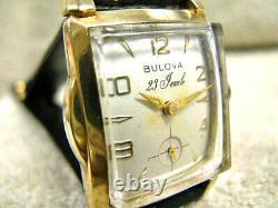 Vintage Bulova Hi Grade 23 Jewel, Cal. 10-BP, All Original, Dress Watch, RUNS