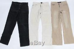 Vintage Corduroy Cord Trousers Pants Mens Job Lot Wholesale x40 Grade A -Lot369