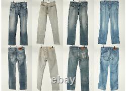 Vintage Denim Jeans Wrangler Lee Levis Job Lot Wholesale Grade A-B x40 -Lot645