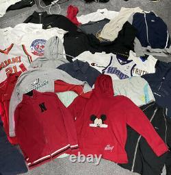 Vintage Designer Clothing Wholesale x25 Items Grade A Tommy Hilfiger Nike Adidas
