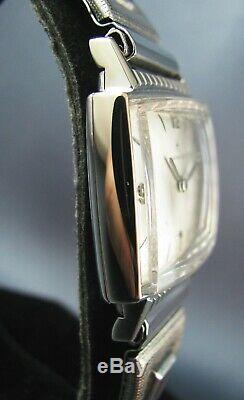 Vintage Hamilton GARY 10k White Gold RGP Mens Dress Watch 17J Grade 686 1960