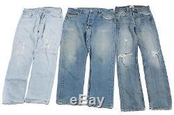 Vintage Levis 501 Jeans Wholesale Job Lot X20 Pieces Grade C