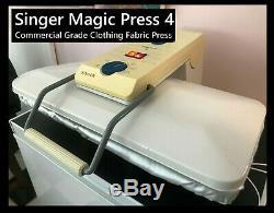 Vintage Singer Magic Press 4 Commercial Grade Clothes Press new pad & cover