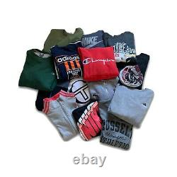 Vintage Wholesale Bundle Branded Sweatshirts Ans Hoodies Grade A And B